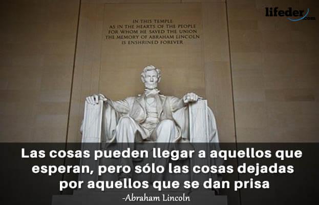 As 100 melhores frases de Abraham Lincoln 20