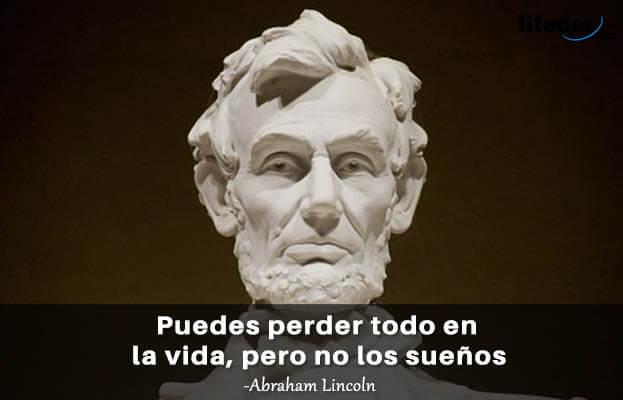 As 100 melhores frases de Abraham Lincoln 7