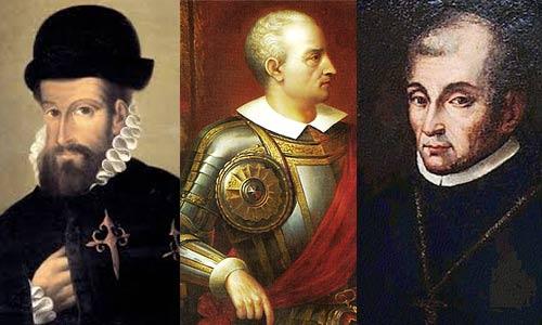 Os três parceiros da conquista 1