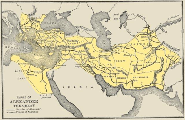 Alexandre, o Grande: biografia, territórios conquistados, personalidade 7