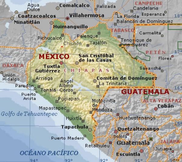 Qual é o significado de Chiapas? 1