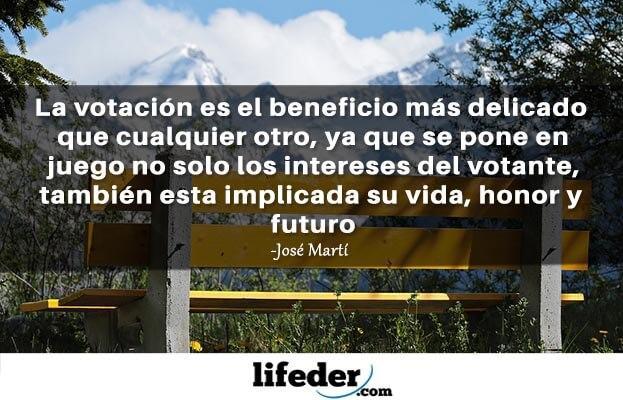 As 75 melhores frases de José Martí 16