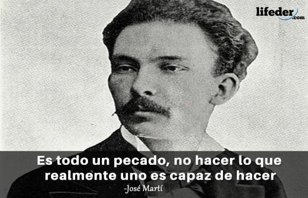 As 75 melhores frases de José Martí 6
