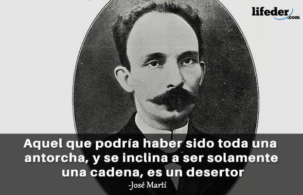 As 75 melhores frases de José Martí 7