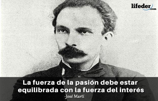 As 75 melhores frases de José Martí 8