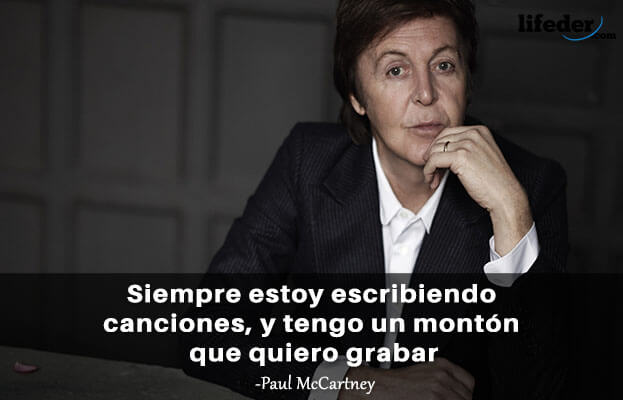 45 frases grandes de Paul McCartney 10