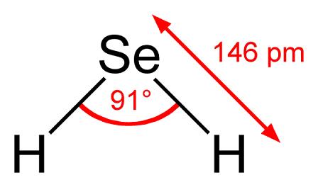 Ácido selenídrico (H2Se): estrutura, propriedades e usos 1