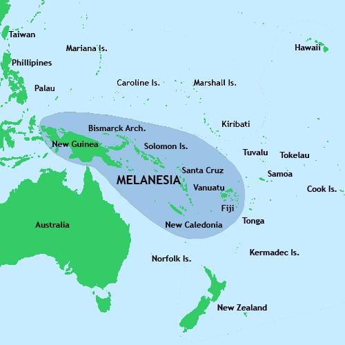 Melanésia: localização, etnias, religião e economia 1