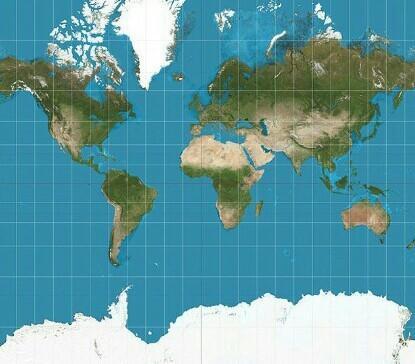 Projeção Mercator: Vantagens, Desvantagens e Exemplos 1