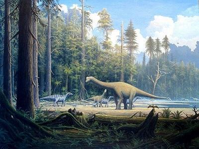 Era Mesozóica: características, divisões, geologia, espécies 37