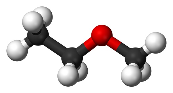 Metoxietano: estrutura, propriedades, compras, usos, riscos 2
