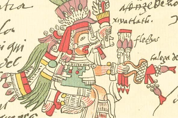 Mixcóatl: origem, características, rituais 1