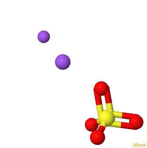 Sulfato de sódio: fórmula, propriedades, estrutura, aplicações 8