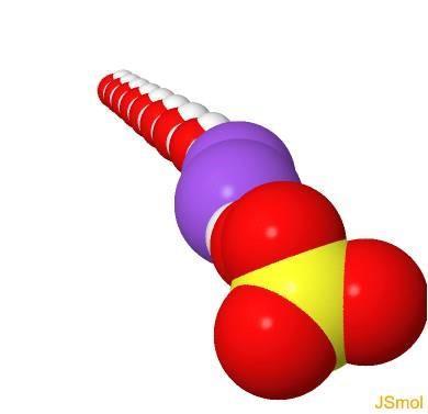 Sulfato de sódio: fórmula, propriedades, estrutura, aplicações 11