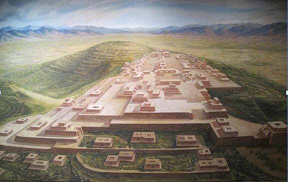 Como foi a organização política e social zapoteca? 1