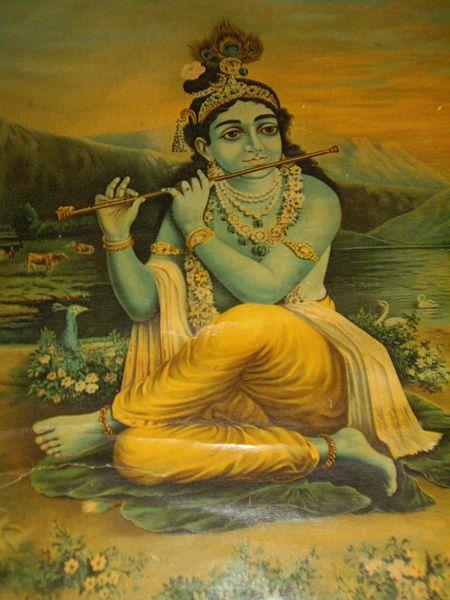 Krishna: biografia, infância, idade adulta, morte, influências 7