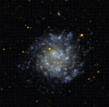 Galáxia anã: formação, evolução, características, exemplos 6
