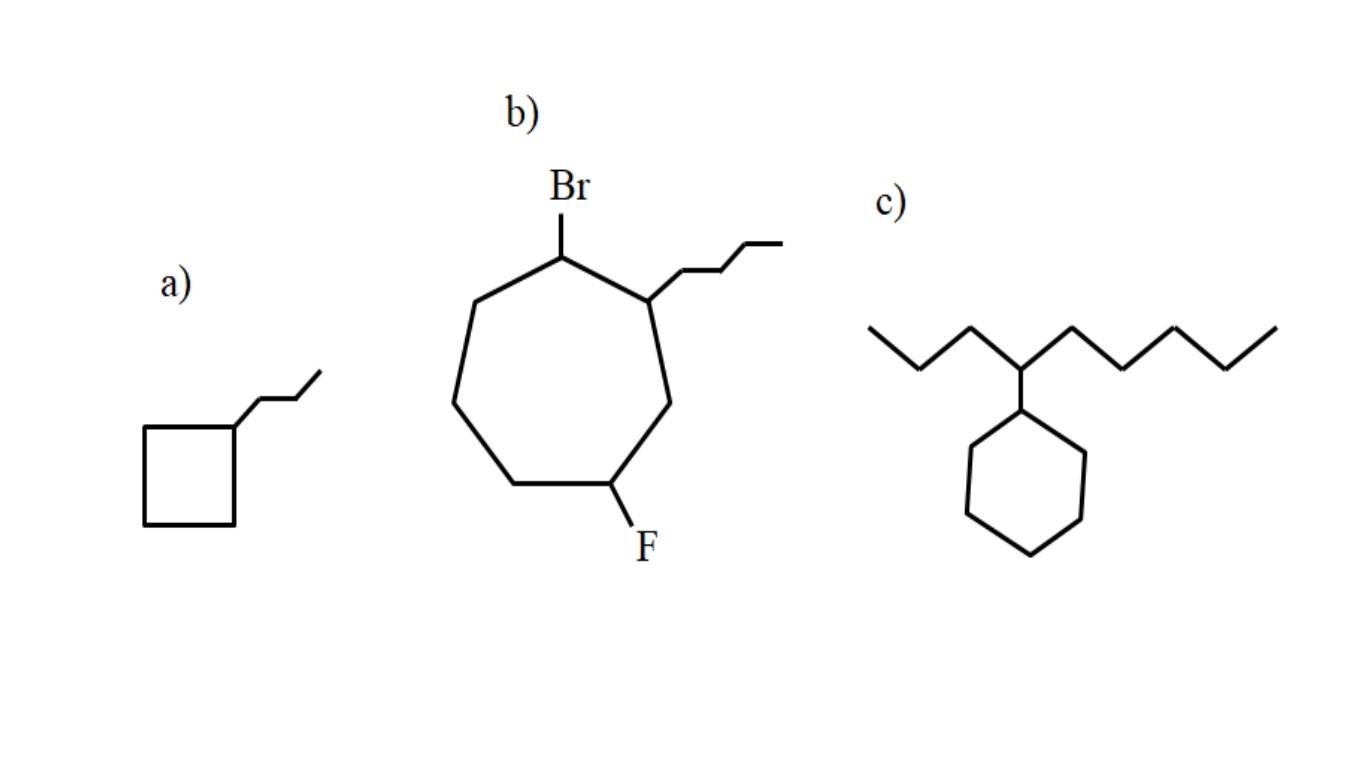 Cicloalcanos: propriedades, reações, usos, exemplos 2
