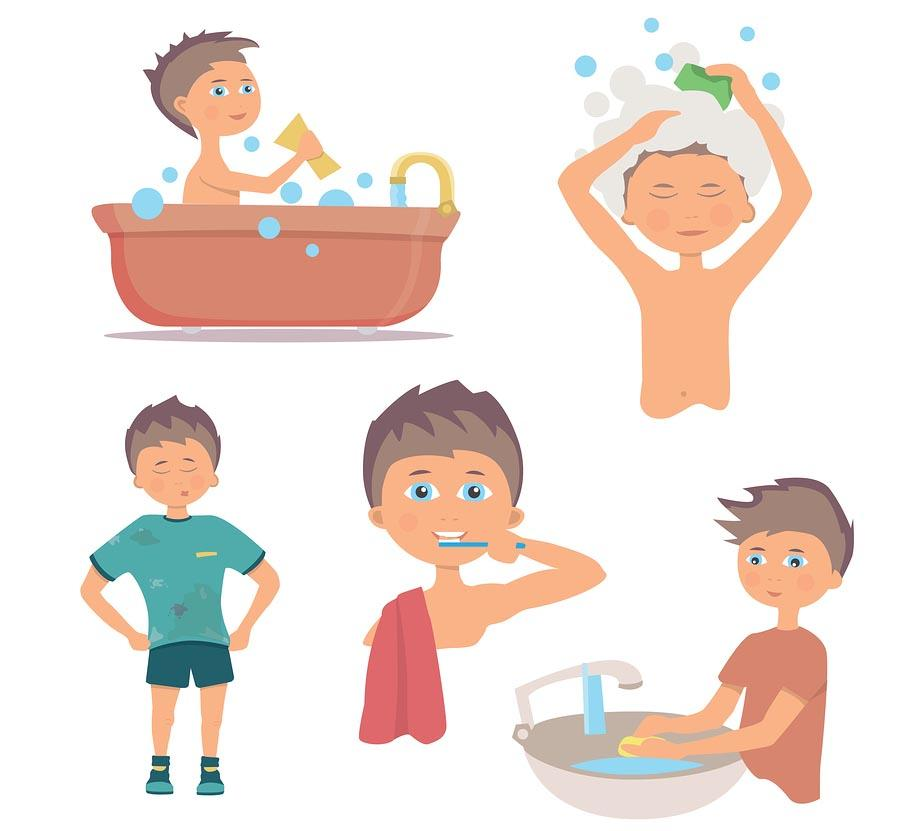 15 padrões essenciais de higiene pessoal