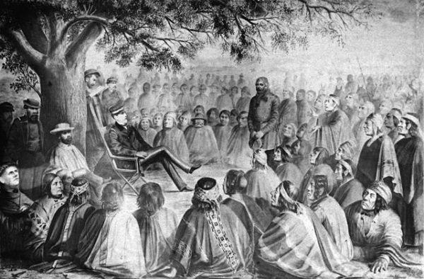 Ocupação de Araucanía: causas, conseqüências 1