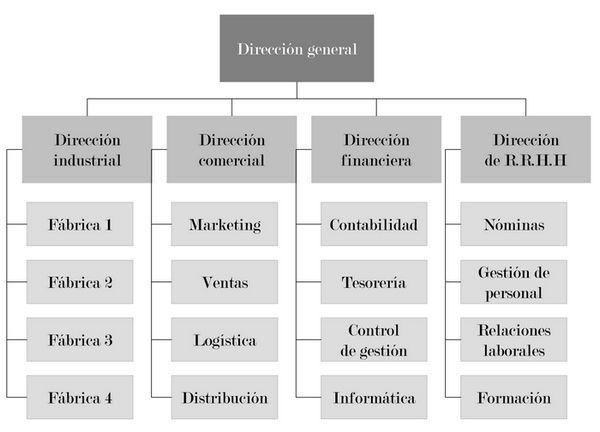 Organograma de uma empresa comercial: cargos e funções 2