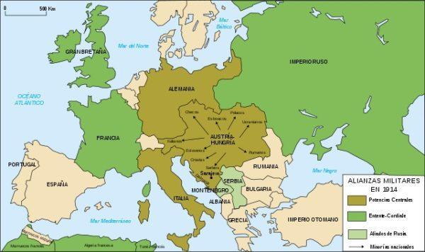 Primeira Guerra Mundial: Início, Causas e Desenvolvimento 1