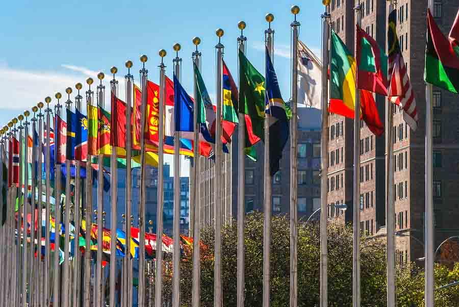 Quais países compõem a ONU? (2020) 1