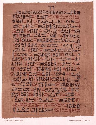 Papiro de Ebers: história e conhecimento médico 1
