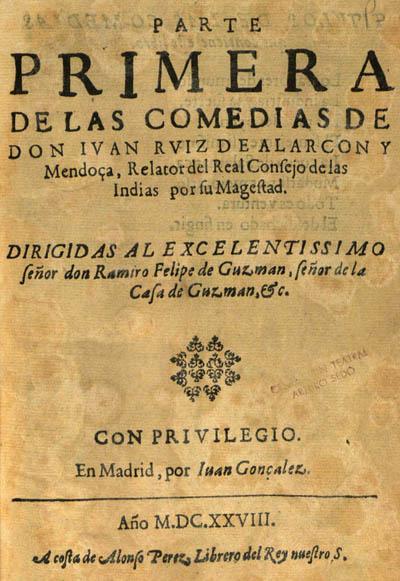Juan Ruíz de Alarcón: biografia e obras 2