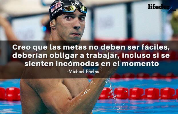 As 27 melhores frases de Michael Phelps 6