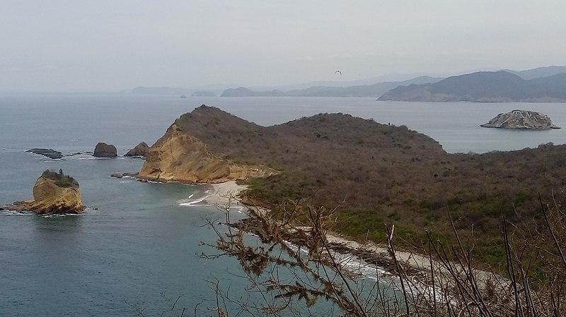 Acidentes costeiros no Equador e suas características 2