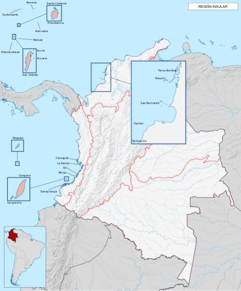As 6 regiões naturais da Colômbia e suas características 4