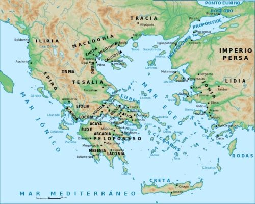 Polis gregas: características, organização social e política 1
