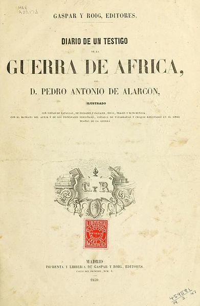 Pedro Antonio de Alarcón: biografia e obras 3