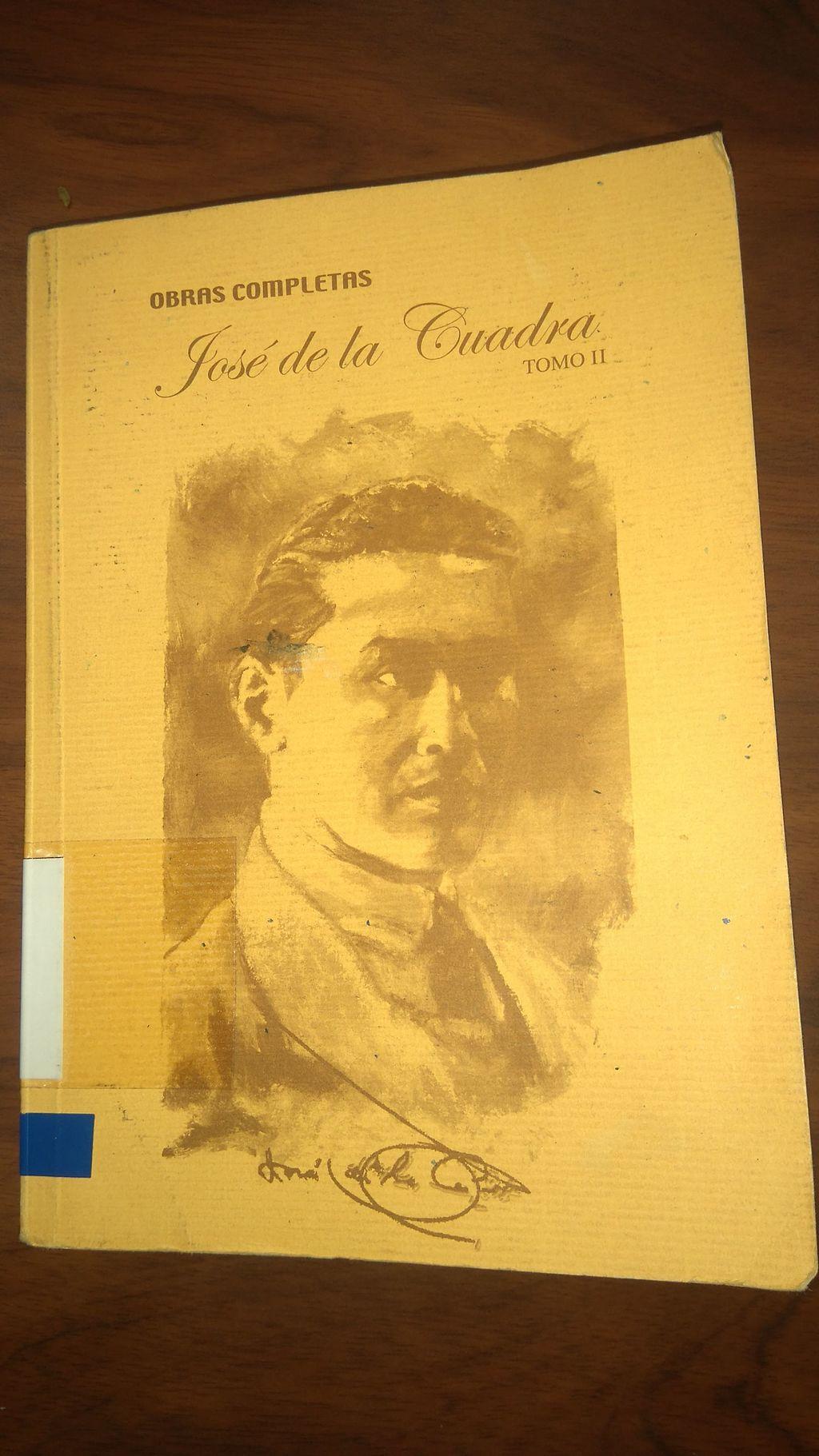 José de la Cuadra: biografia e obras 2