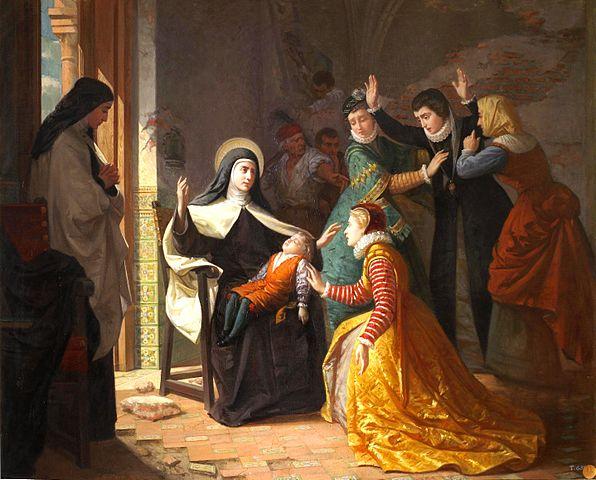 Santa Teresa de Jesus: biografia e obras 2