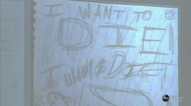 Os desenhos assustadores de uma garota assassina de 12 anos 4