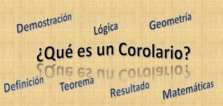 O que é um corolário em geometria? 1