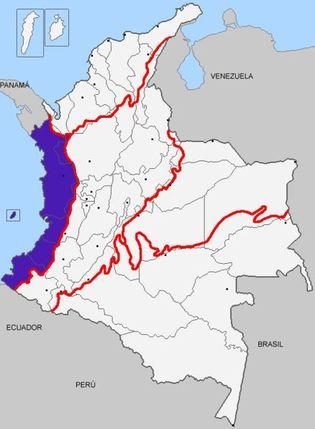 Região Pacífico da Colômbia: características, clima 1