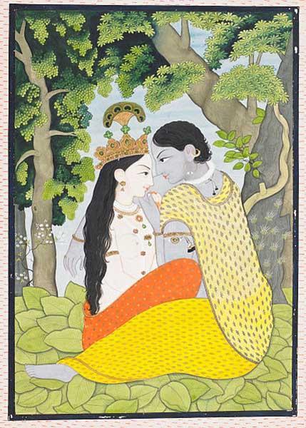 Krishna: biografia, infância, idade adulta, morte, influências 4