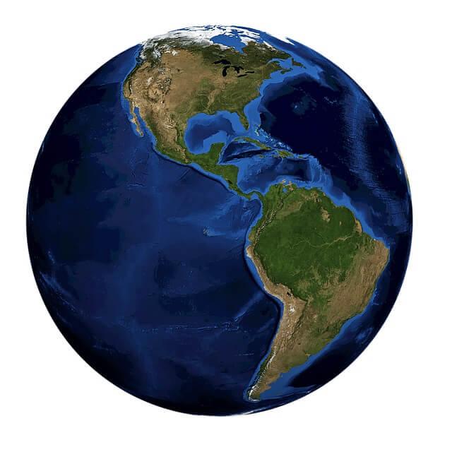 Recursos Naturais da América (Norte e Sul) 1