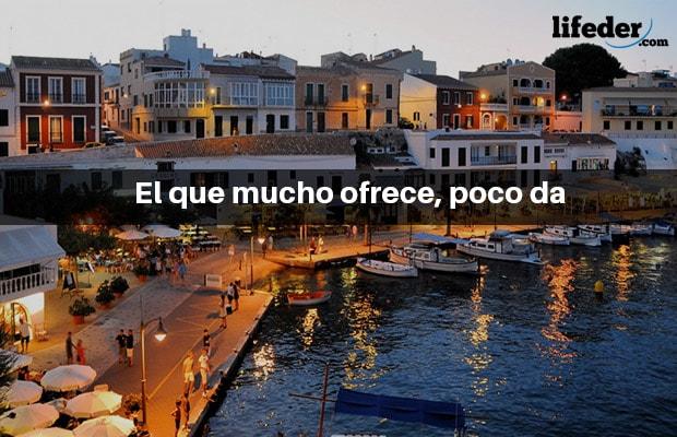 Os 200 ditados espanhóis mais populares 22