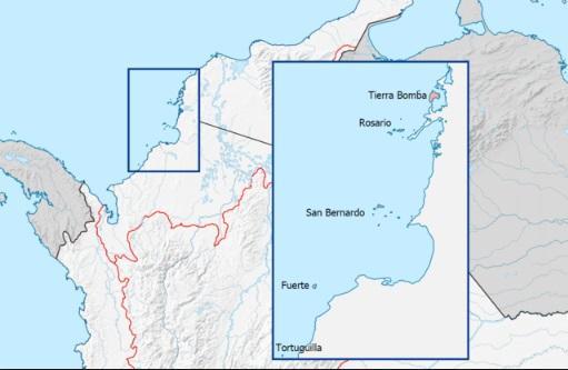 Região Insular da Colômbia: características, história, cultura 2