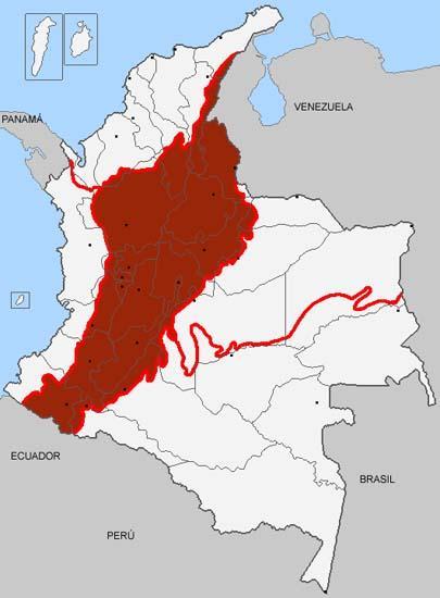 As 6 regiões naturais da Colômbia e suas características 6