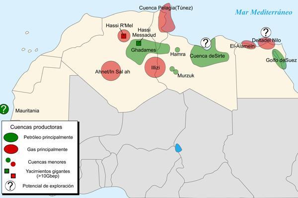 Norte ou norte da África: características, sub-regiões, economia 1
