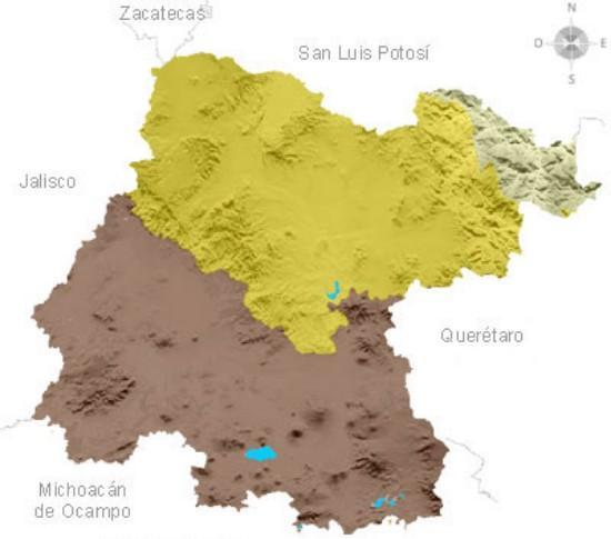 Alívio de Guanajuato: Principais Características 1