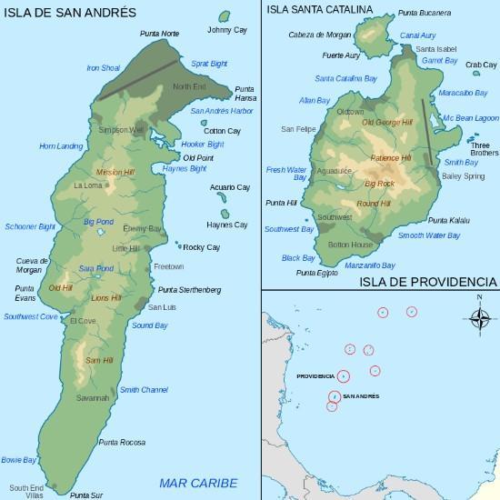 Isolamento da região insular: principais características 1