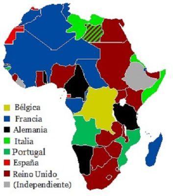 Elenco da África: causas, principais disputas e impérios 1