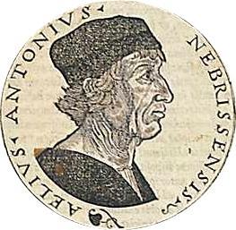 Antonio de Nebrija: Biografia e Obras 1