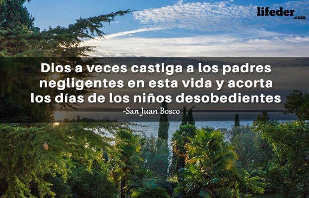 As 100 melhores frases de San Juan Bosco 20